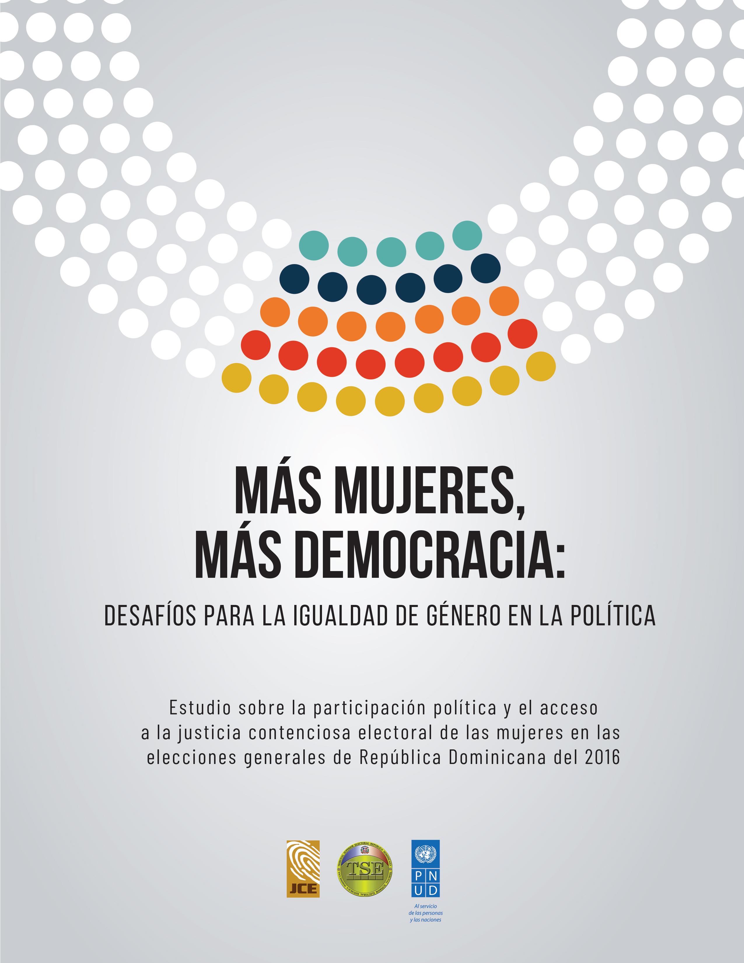Portada Más Mujeres Más Democracia