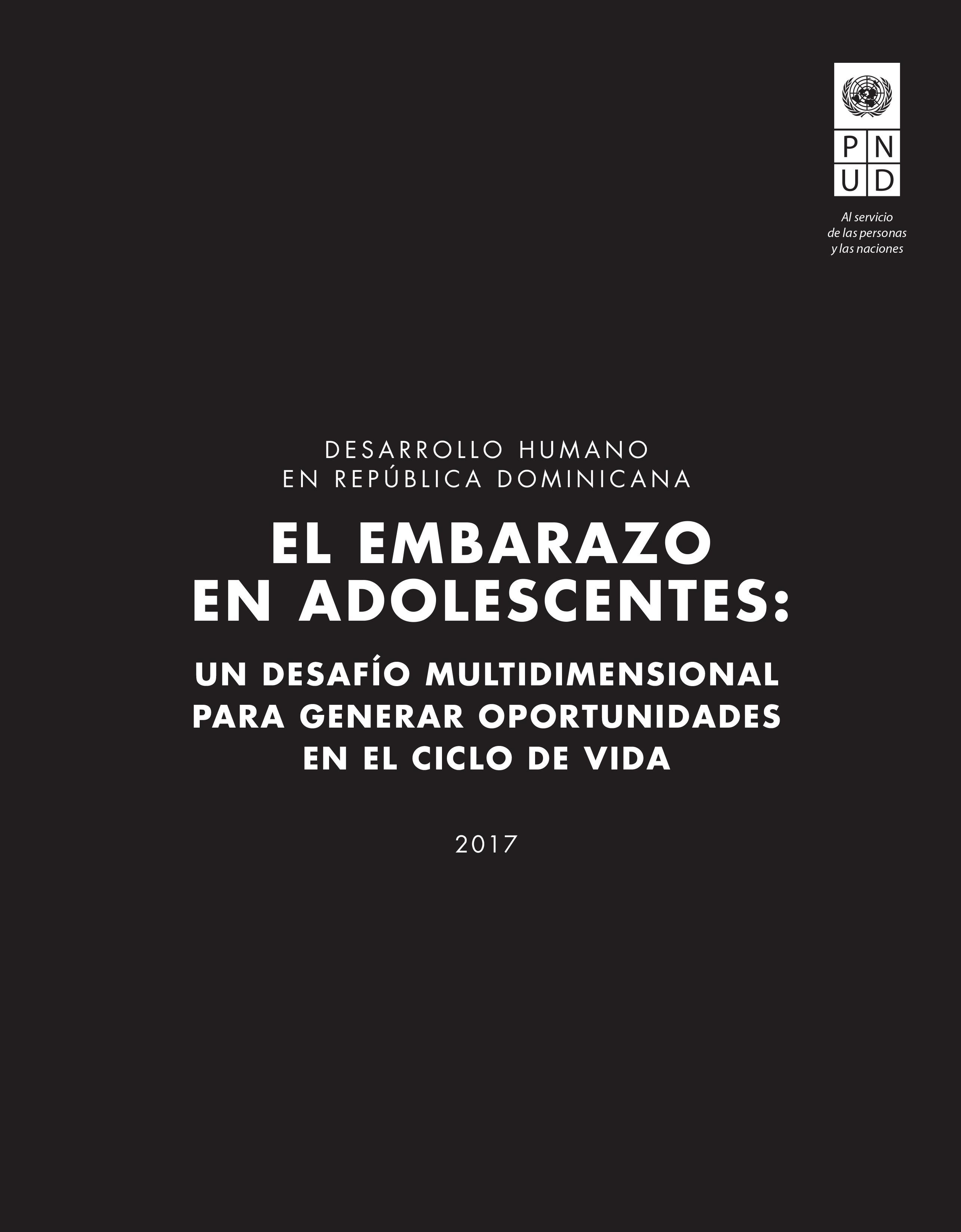 Informe sobre Desarrollo Humano 2017