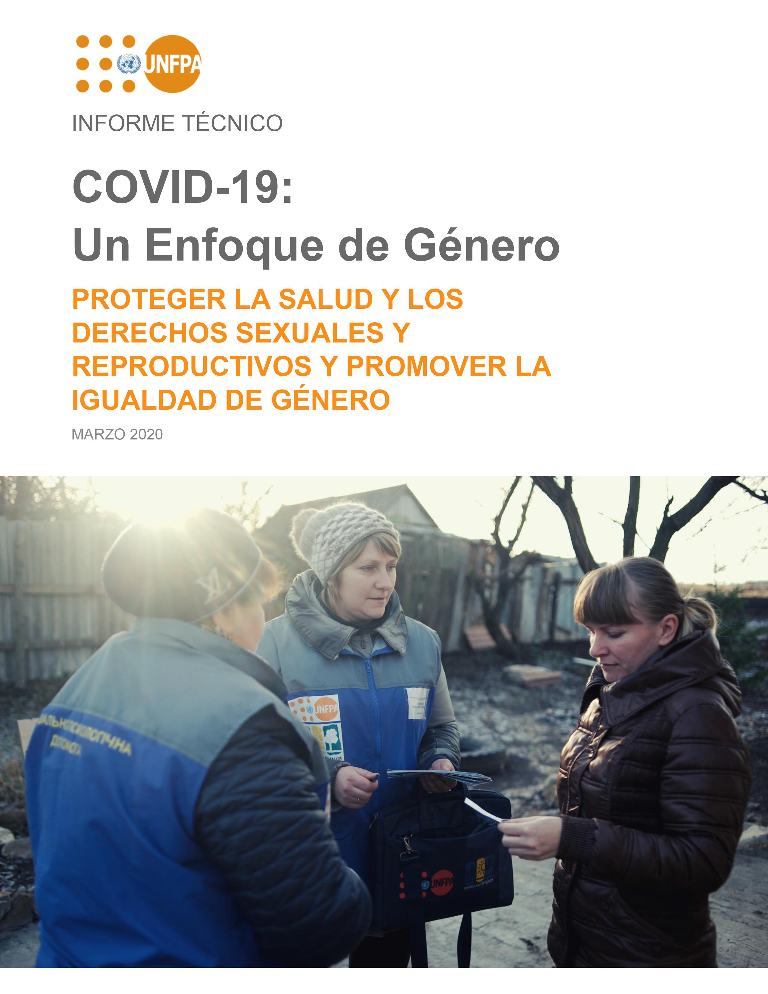 COVID19 - Enfoque de Género