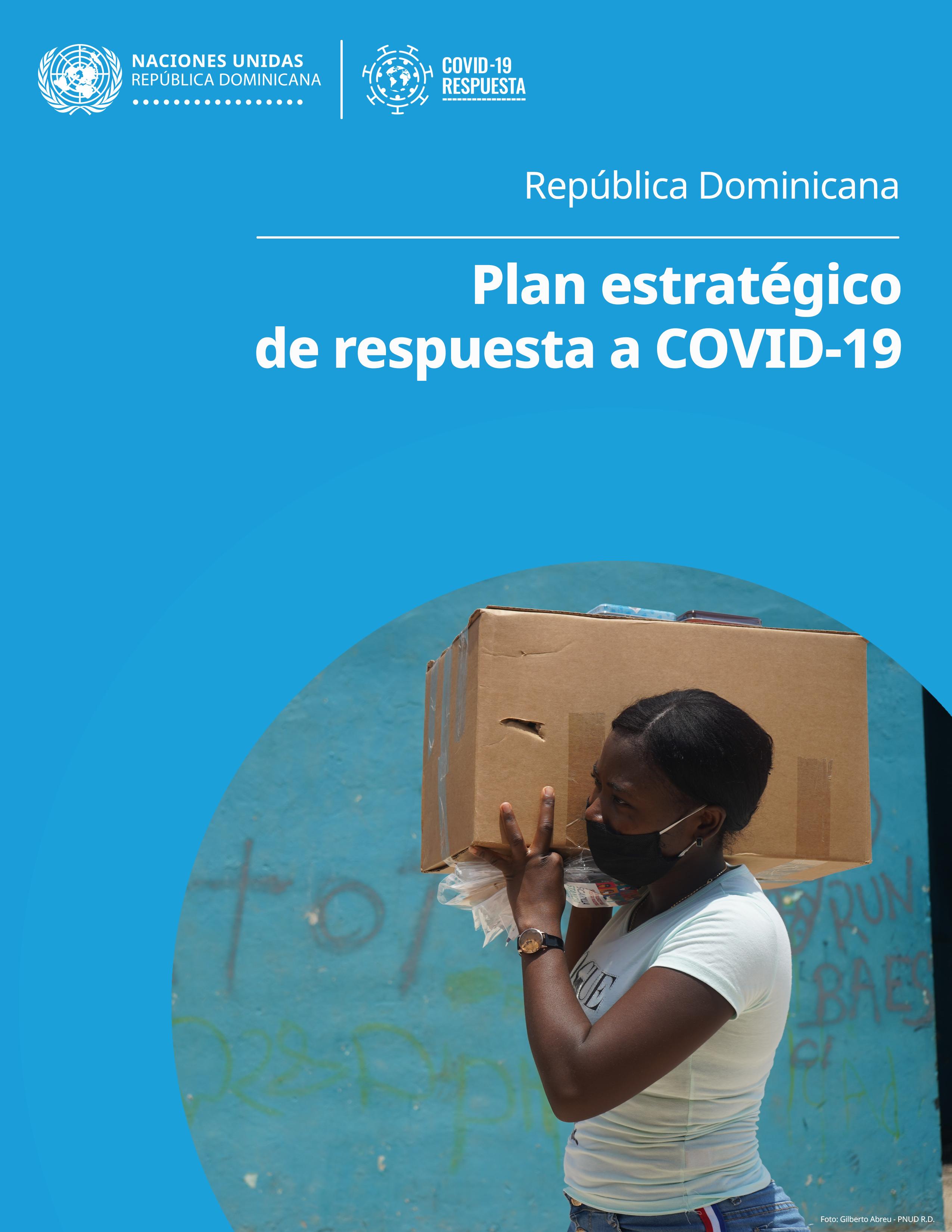 Portada Plan de Respuesta COVID19 RD
