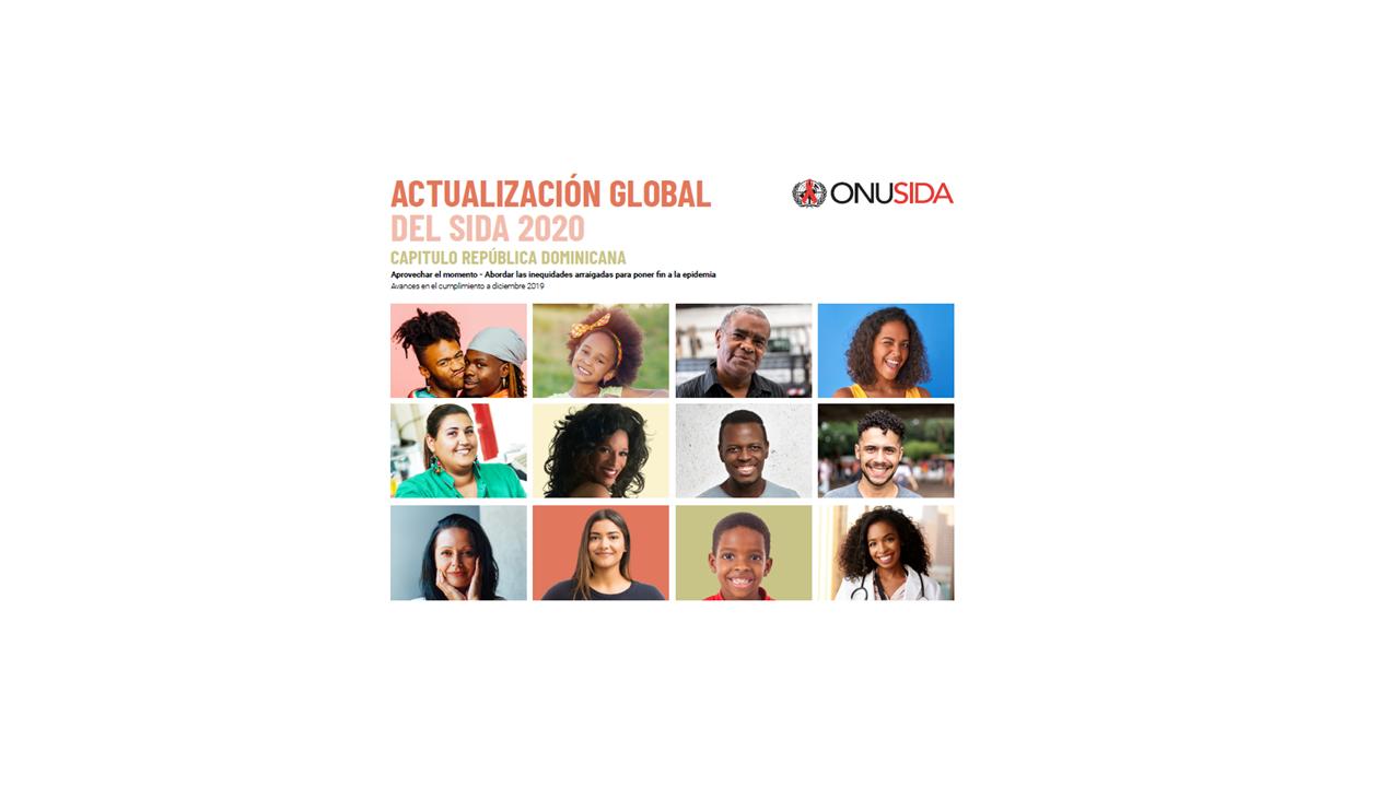 INFOGRAFÍA - Actualización Global Del Sida 2020, Capítulo República Dominicana.