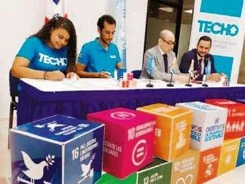 TECHO República Dominicana, Comisión Nacional de Desarrollo Sostenible y Sistema de las Naciones Unidas firman acuerdo para el desarrollo sostenible