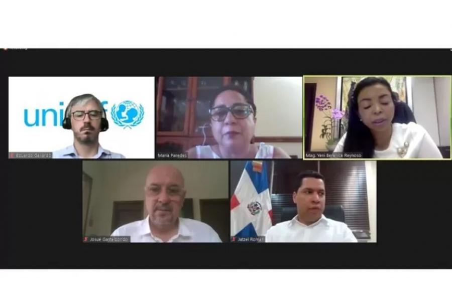 reunión OIM UNICEF actores clave