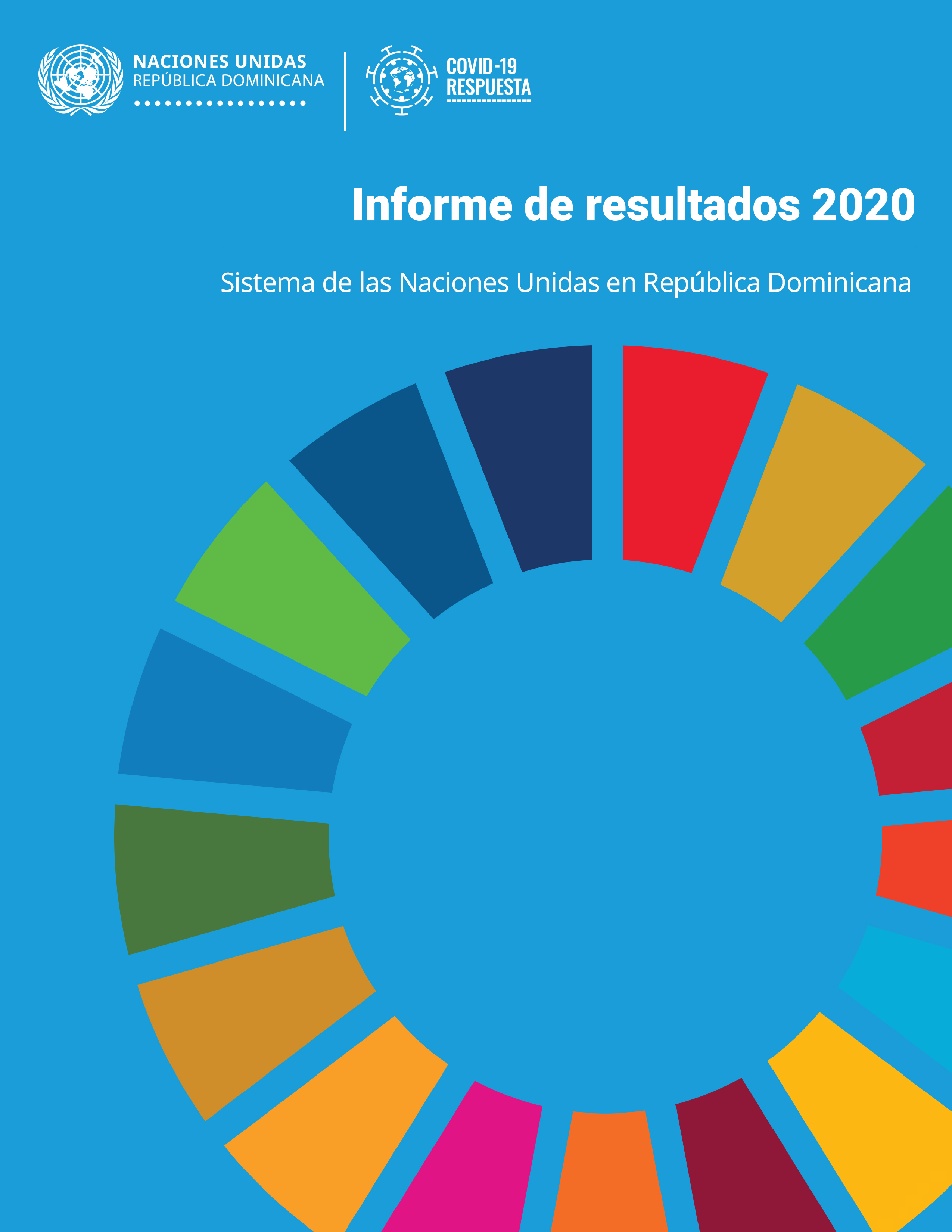 Portada web Informe ONU RD 2020