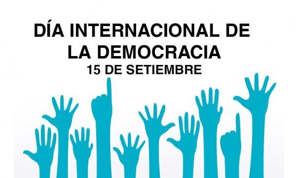 Mensaje del Secretario General con motivo del Día Internacional de la Democracia 15 de septiembre de 2021