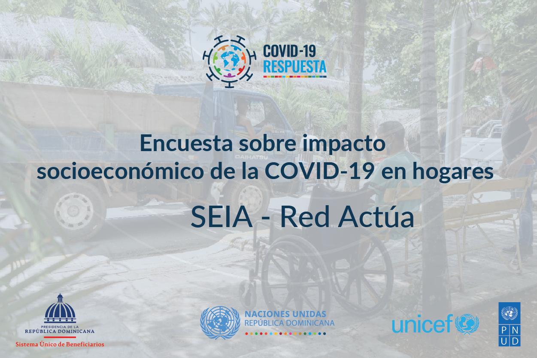SIUBEN y agencias ONU presentan datos en línea de encuesta de impacto socioeconómico de COVID-19 en hogares