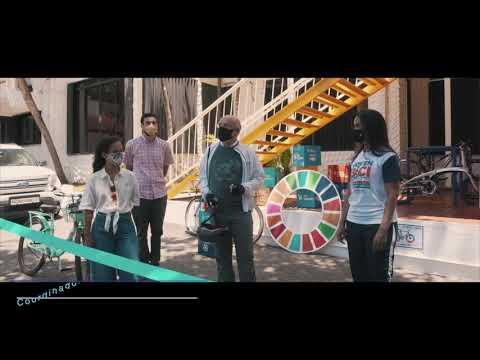 Día Mundial de la Bicicleta - Inauguración de cicloparqueo en Casa ONU