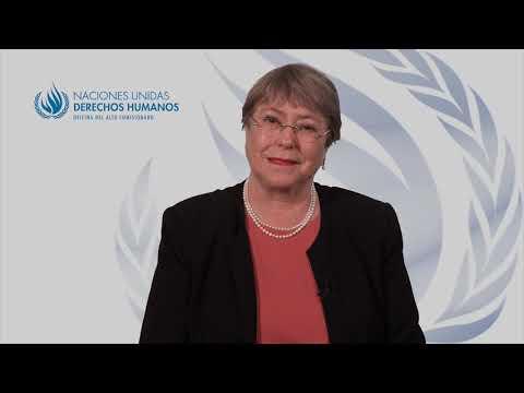 Mensaje de Michelle Bachelet por del Día Internacional de la Eliminación de la Violencia contra la Mujer y el 60 aniversario del asesinato de las hermanas Minerva, Patria y María Teresa Mirabal