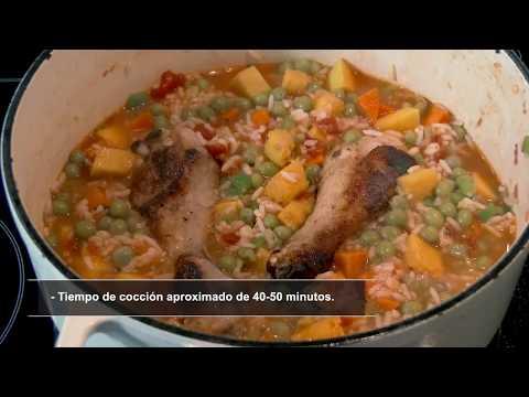 Asopao de pollo –Cocinando saludable con sabrosura