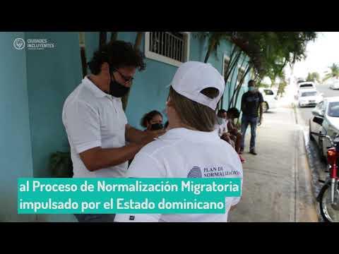 Ciudades Incluyentes apoya el Proceso de Normalización de Venezolanos en Boca Chica