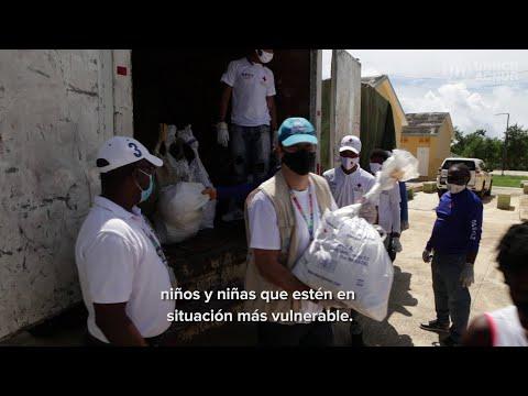 Respuesta COVID-19: ACNUR y Cruz Roja